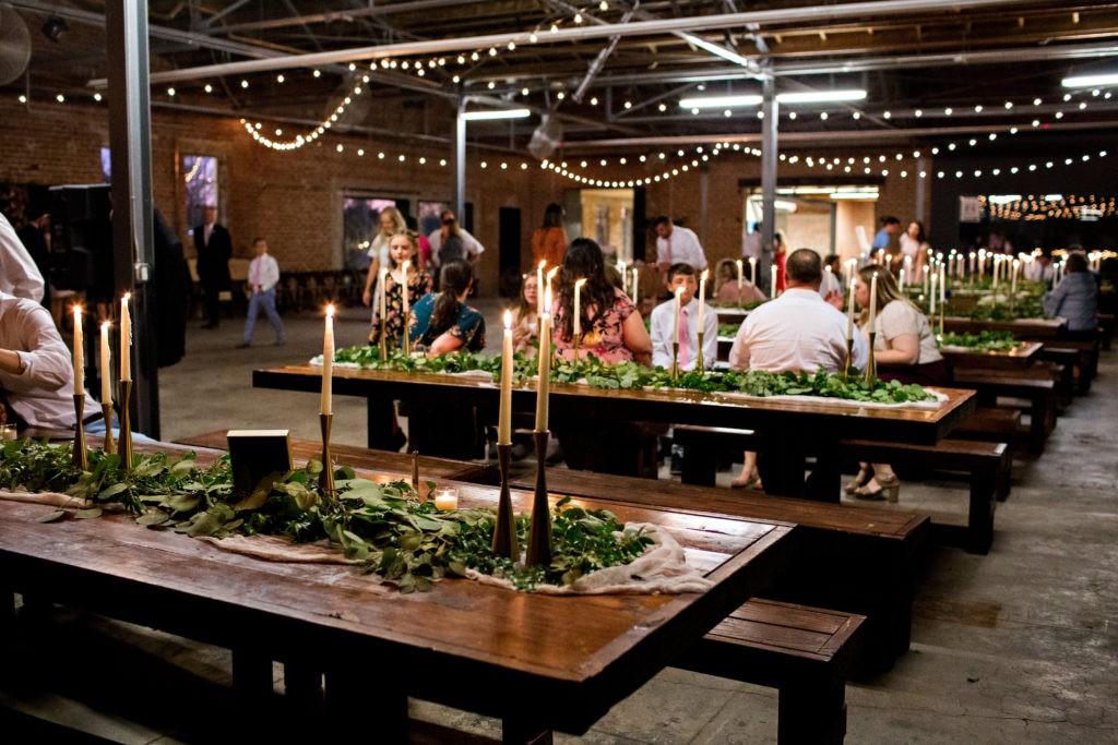 Sunkist Warehouse Wedding Venue Space